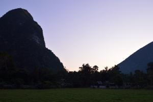 Sun Set In Muang Ngoi